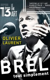 Brel… tout simplement - Olivier Laurent