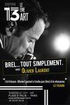 Brel… tout simplement – Olivier Laurent