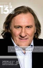 G. Depardieu et l'Orchestre Philharmonique de Prague