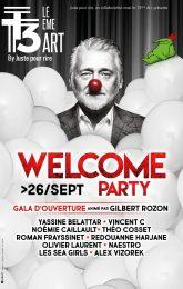 Soirée d'ouverture - Welcome Party