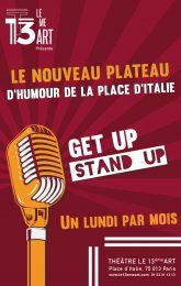 GET UP STAND UP : Le nouveau plateau d'humour !